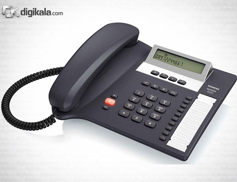 تصویر تلفن با سیم رو میزی گیگاست مدل ای اس ۵۰۲۰ Gigaset ES 5020 Corded Landline phone