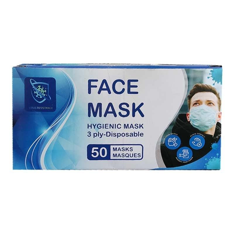 تصویر ماسک سه لایه (200 عدد)