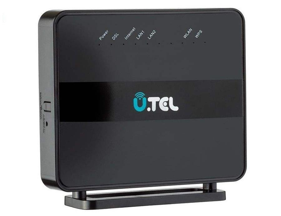 تصویر مودم روتر یو.تل VDSL2/ADSL2 Plus بی سیم مدل V301 U.TEL V301 Wireless VDSL2/ADSL2 Plus Modem Router