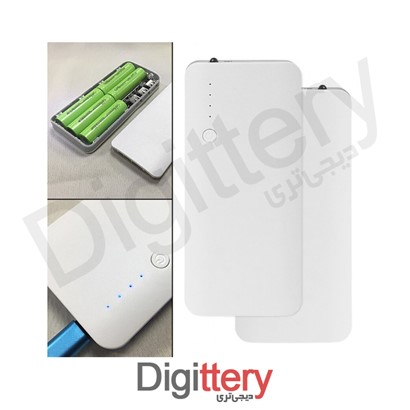 main images کیس پاوربانک سه خروجی USB به همراه برد