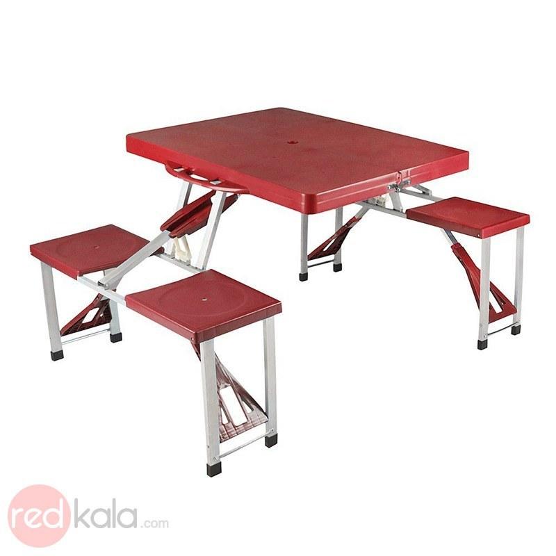 عکس میز و صندلی سفری 4 نفره همسفر Offroad-001 میز-و-صندلی-سفری-4-نفره-همسفر