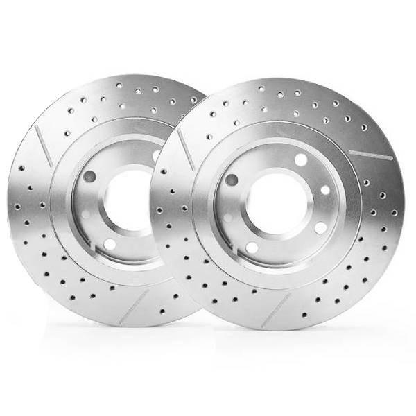 تصویر دیسک ترمز چرخ جلو کاردینال مناسب برای پراید بسته 2 عددی Cardinal brake disc Suitable for Pride