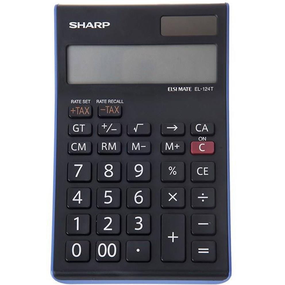 تصویر ماشین حساب شارپ (SHARP) مدل EL - 124