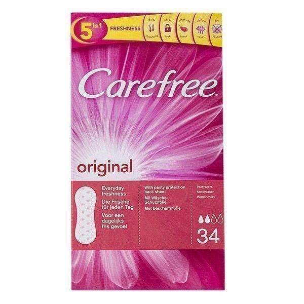 پد بهداشتی روزانه Carefree مدل Original