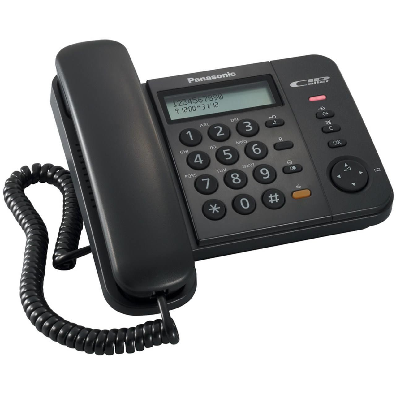 main images تلفن دیجیتال با سیم پاناسونیک مدل تی اس 580 ام ایکس Panasonic Digital Corded Phone - KX-TS580MX