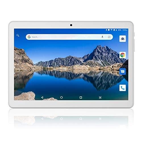 رایانه لوحی 10 اینچی ، فبلت 3G بدون قفل ، رایانه لوحی Android 8.1 Go با شکاف کارت دوگانه ، 1G 16 گیگابایت ، دوربین دوگانه ، گواهی GMS ، WiFi ، بلوتوث ، GPS - نقره