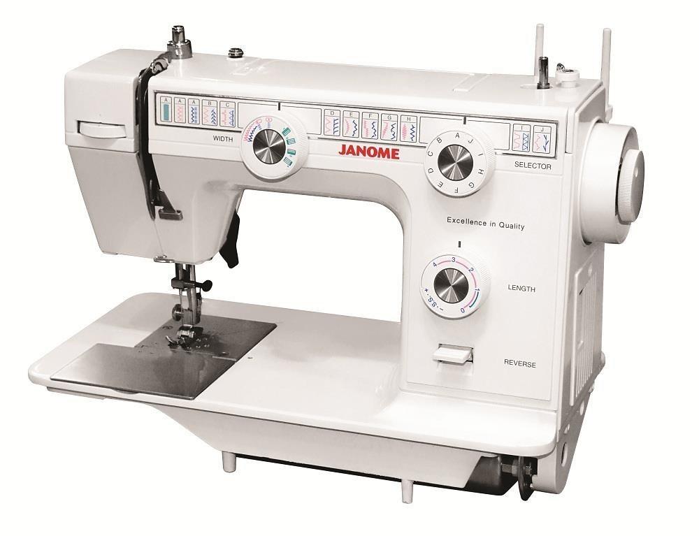 تصویر چرخ خیاطی ژانومه مدل 399A JANOME 399A Sewing Machine