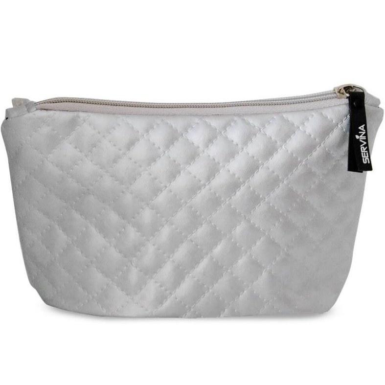 Servina Cosmetic Bag Spring Silver