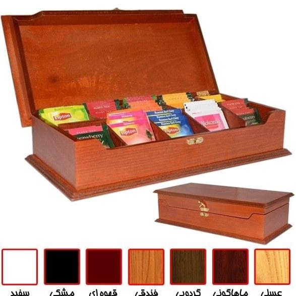 تصویر جعبه پذیرایی چای و نسکافه