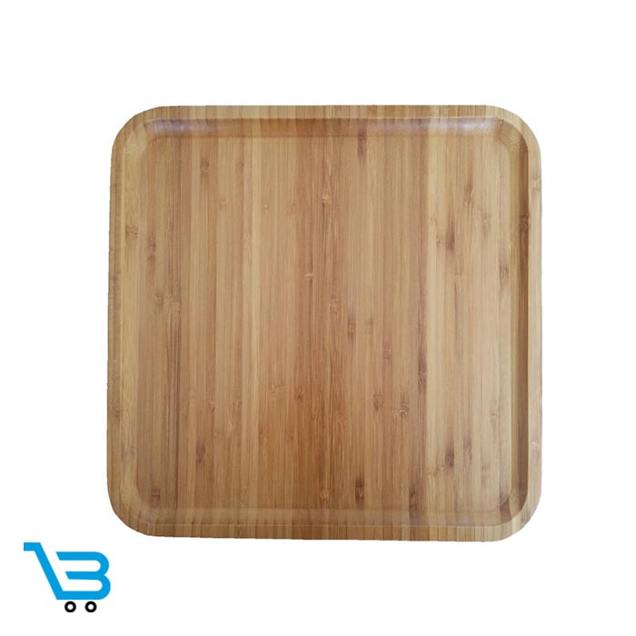 تصویر ظروف اردو خوری بامبو بشقاب مربع