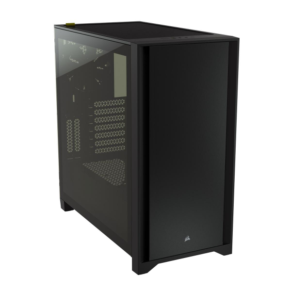 Corsair 4000D Tempered Glass Mid-Tower ATX Case – Black