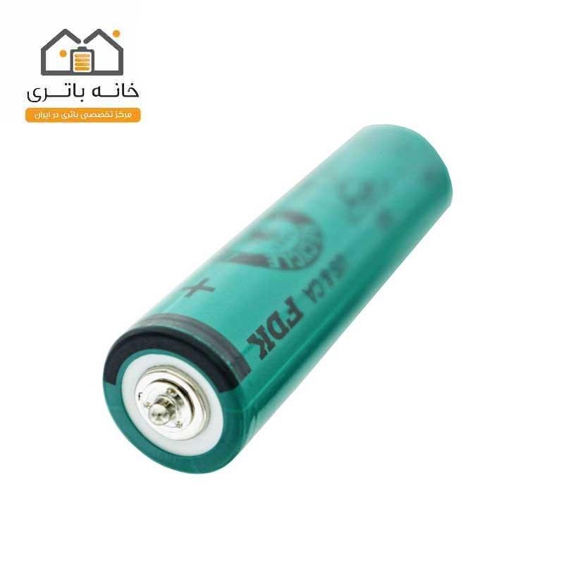 تصویر باتری ریش تراش قلمی FDK شارژی 1.2 ولت 1800 میلی آمپر نیکل متال