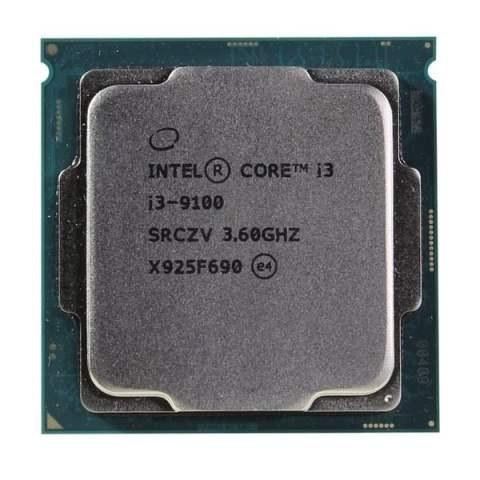 تصویر سی پی یو اینتل Core i3-9100 سری Coffee Lake Intel Coffee Lake Core i3-9100 LGA 1151 desktop processor