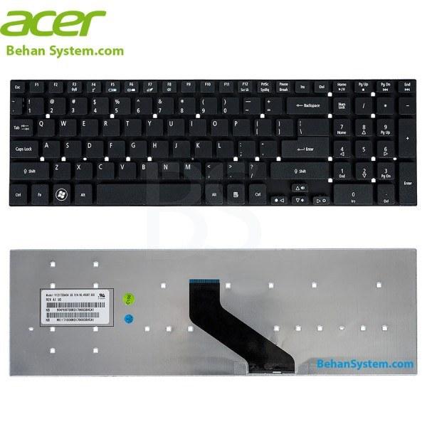 تصویر کیبورد لپ تاپ Acer Aspire E5-571 / E5-571G / E5-571P / E5-571PG