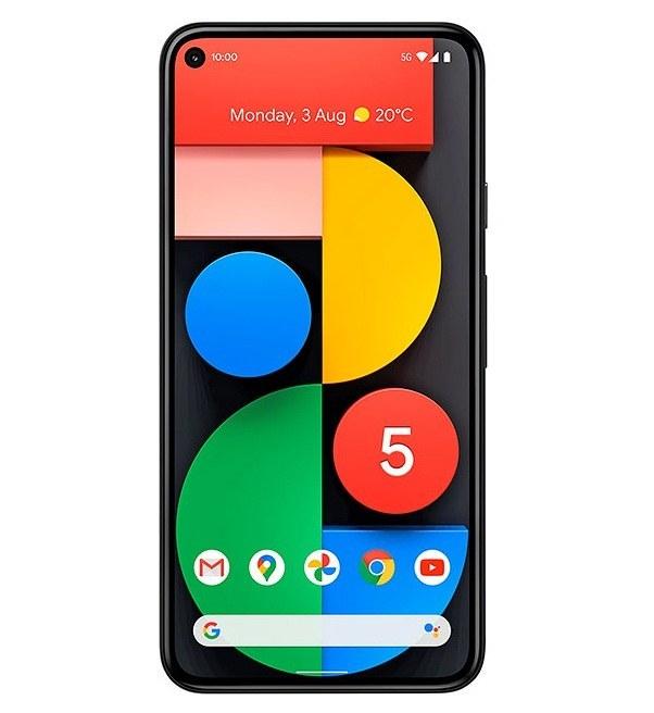 تصویر گوشی موبایل گوگل مدل پیکسل 5 رم 8 حافظه 128 دو سیم کارت Google Pixel 5 8GB 128GB Dual Sim Mobile Phone