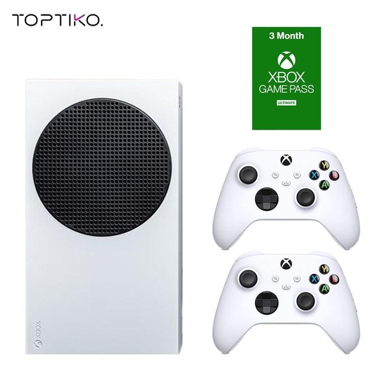 تصویر خرید کنسول Xbox Series S همراه دسته اضافه و Game Pass Ultimate 3 Months