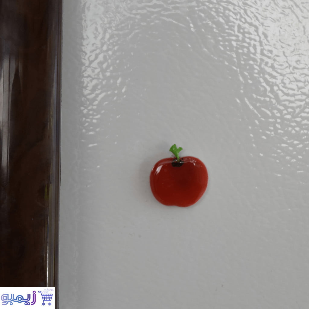 تصویر مگنت یخچال سیب