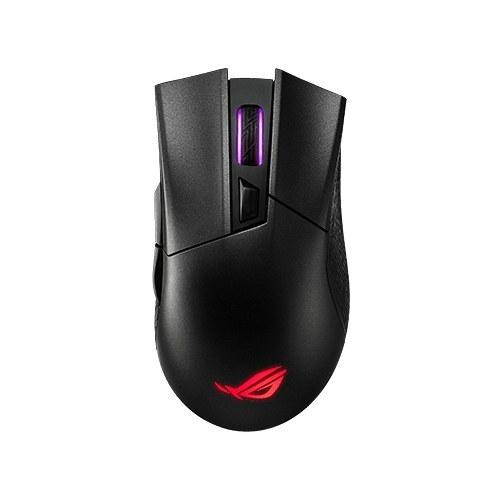 تصویر ماوس گیمینگ بی سیم ایسوس مدل P702 ROG Gladius II Wireless ASUS ROG Gladius II RGB Wireless Gaming Mouse P702