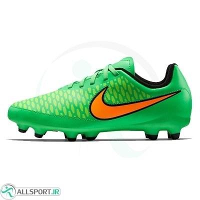 کفش فوتبال سایز کوچک نایک مجیستا Nike Jr Magista Onda FG 651653-380