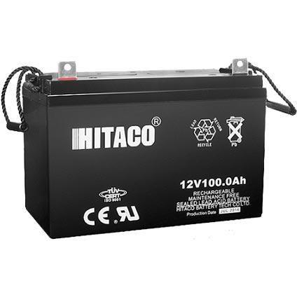 باتری هیتاکو 12 ولت 100 آمپر Hitaco |