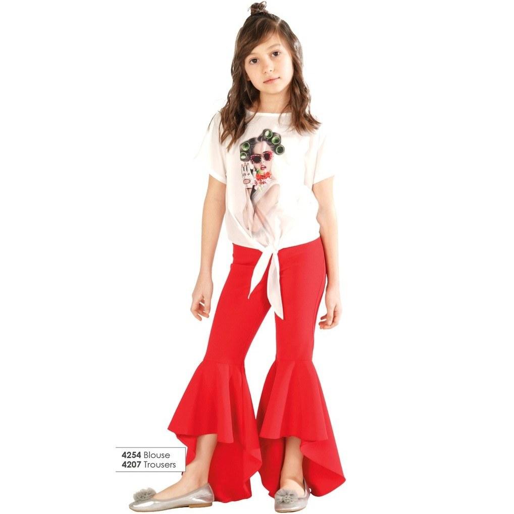 خرید انلاین شلوار دخترانه کد 4207 از ترکیه