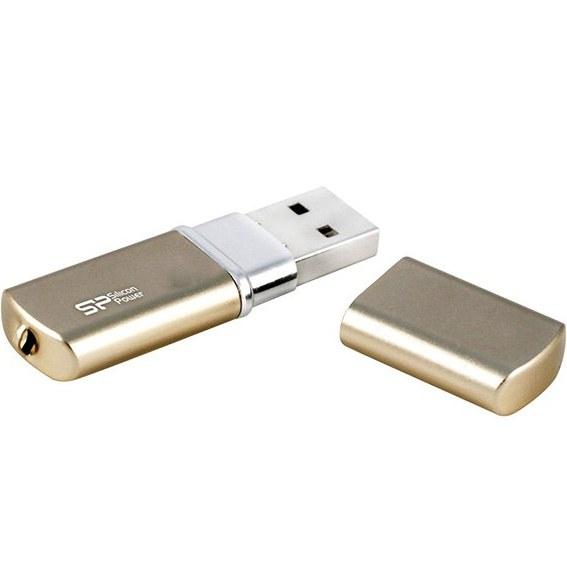 تصویر فلش مموری USB 2.0 سیلیکون پاور مدل لوکس مینی 720 ظرفیت 64 گیگابایت Silicon Power LuxMini 720 USB 2.0 Flash Memory -64GB