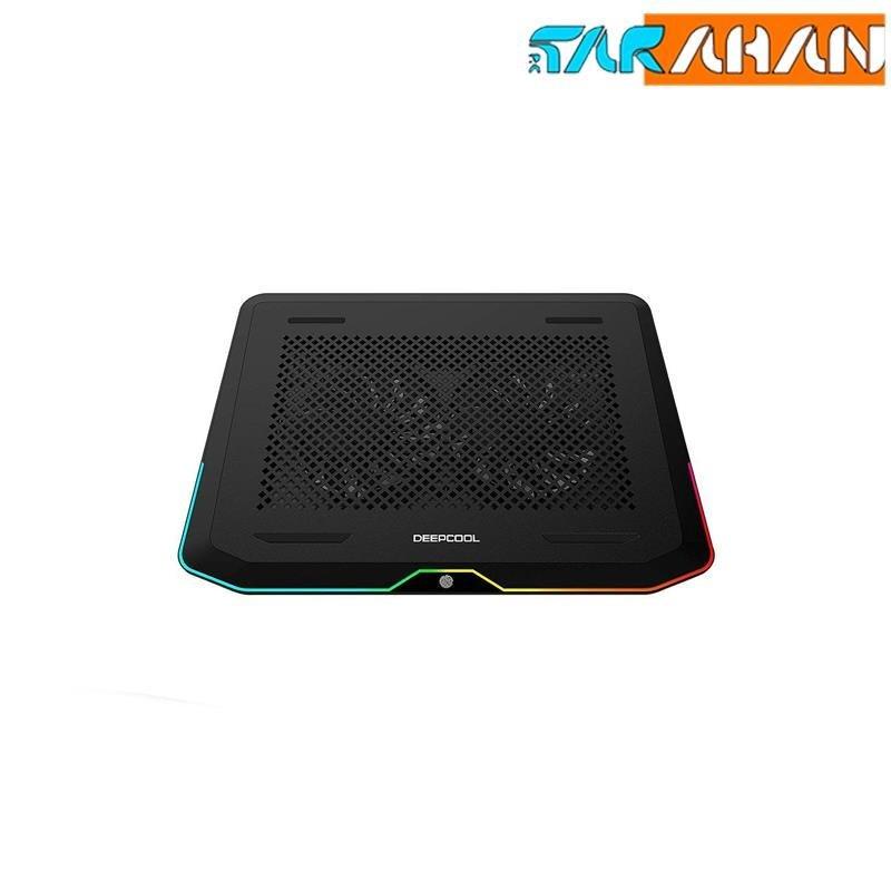 main images کول پد لپ تاپ دیپ کول مدل N80 RGB پایه و خنک کننده لپ تاپ دیپ کول N80 RGB NoteBook Cooler