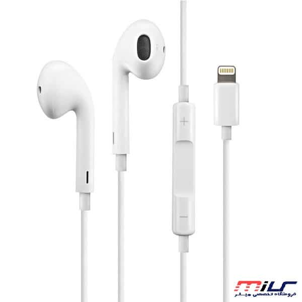 main images هندزفری لایتنینگ مناسب برای گوشی های اپل مدل EarPods Apple iPhone 8 Pin Lightning EarPods & Earphone For Apple iPhone 6, 7, 7 Plus, 8, 8 Plus, X With Mic