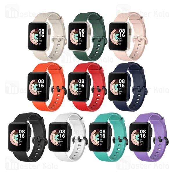تصویر بند سیلیکونی ساعت هوشمند شیائومی Xiaomi Mi Watch Lite / Redmi Watch Silicone Band