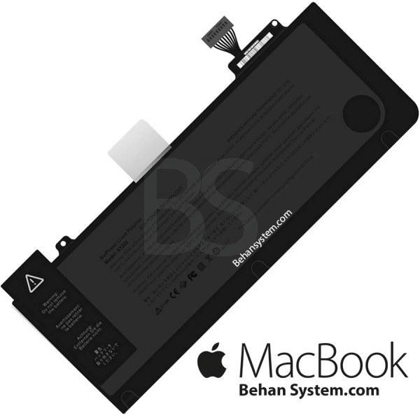 تصویر باتری A1322 مک بوک پرو A1278 سیزده اینچ مدل MD102 کیفیت ساخت بالا مشابه اصلی - همراه پیچ گوشتی