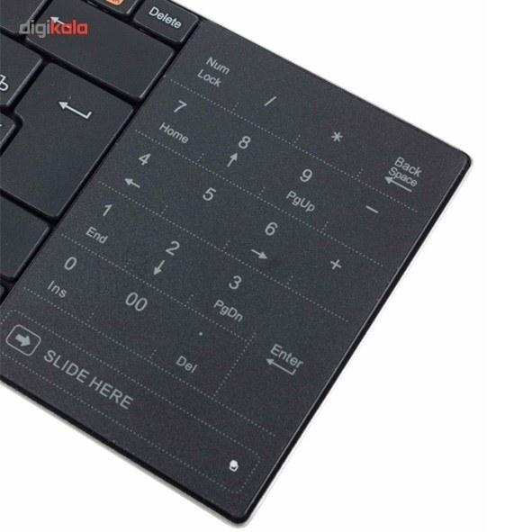 تصویر کیبورد بیسیم رپو مدل ای 9080 کیبورد رپو E9080-Wireless-Keybaord