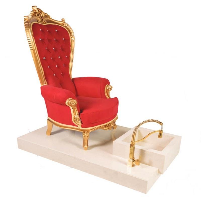تصویر صندلی آرایشگاهی مناسب پدیکور صنعت نواز مدل SN-8870 Hairdressing chair suitable for Sanat Nawaz pedicure model SN-8870