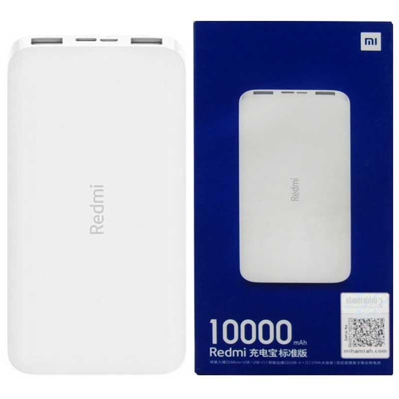 تصویر Xiaomi Redmi 10000mAh Power Bank شارژر همراه شیائومی مدل Redmi ظرفیت 10000 میلی آمپرساعت