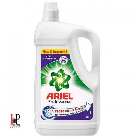 تصویر مایع لباسشویی 4.55 لیتری پنج کاره Professional آریل (Ariel)