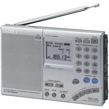 سونی ICF-SW7600GR گیرنده ی جهانی باند Shortwave AM / FM با یک باند پذیری تنها