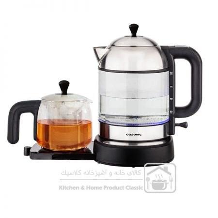 main images چایساز شیشه ای ELD دار گاسونیک کد 762