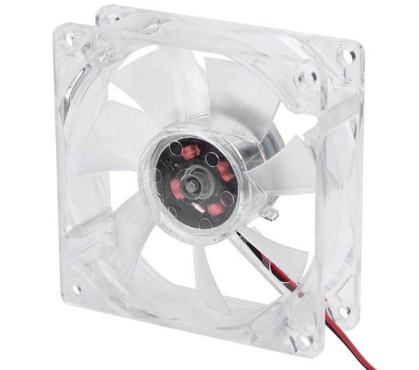 تصویر فن کیس چراغ دار 8 سانتی case fan
