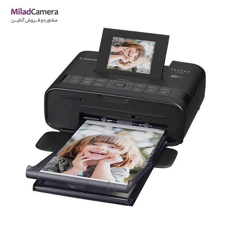 تصویر پرینتر چاپ عکس بی سیم کانن مدل SELPHY CP1200 به همراه 1 عدد کیف و  2 عدد کارتریج کانن مدل RP-108 Canon SELPHY CP1200 Wireless Photo Printer With1  bag and 2 Canon RP-108 Cartridge