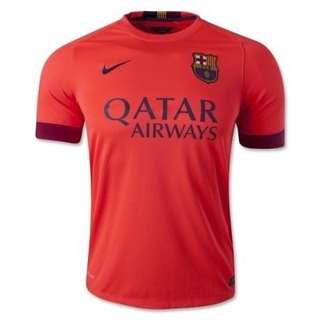 پیراهن دوم بارسلونا Barcelona 2014-15 Away Soccer Jersey