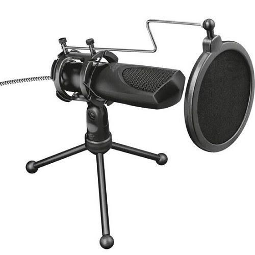 عکس میکروفون استریم تراست مدل GXT 232 Mantis Trust GXT 232 Mantis Streaming Microphone میکروفون-استریم-تراست-مدل-gxt-232-mantis