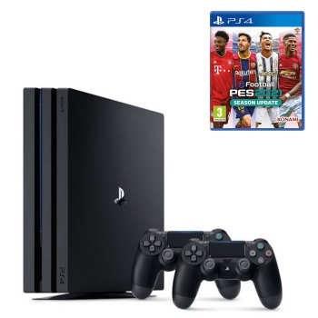 تصویر کنسول بازی سونی PlayStation 4 Pro ظرفیت 1 ترابایت   پلی استیشن 4 پرو ا SONY PlayStation 4 Pro Region 2 CUH-7216B 1TB HDD Game Console SONY PlayStation 4 Pro Region 2 CUH-7216B 1TB HDD Game Console