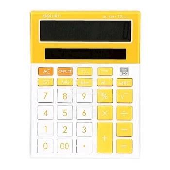 تصویر ماشین حساب دلی مدل DL-1281