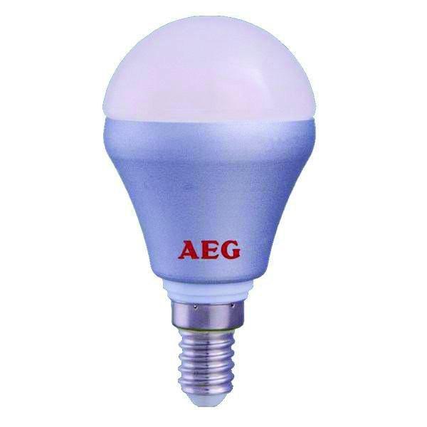 تصویر لامپ حبابی سرپیچ شمعی ۴ وات AEG مدل Mini 320