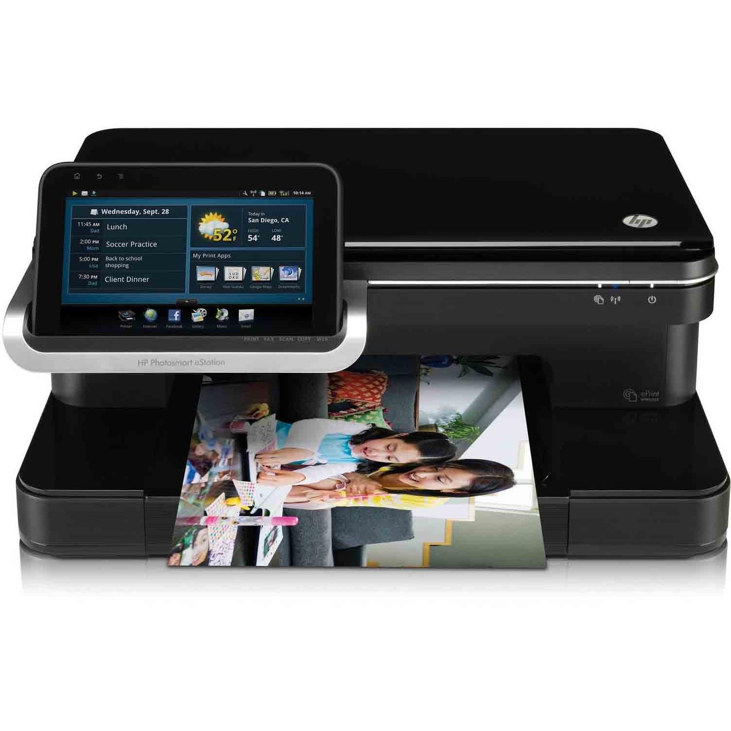 image پرینتر چندکاره جوهرافشان اچ پی مدل C510 HP Inkjet Multifunction Printer Model C510