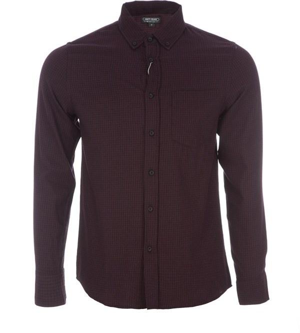 پیراهن مردانه چهار خانه ای جوتی جینز Jooti Jeans