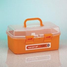 تصویر کیف حمل نمونه با کیت لوله
