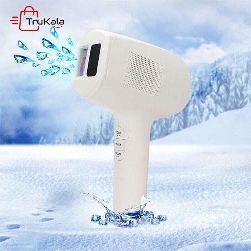 تصویر دستگاه لیزر موهای زائد خانگی دو کاره Ice Point Depilatory Instrument
