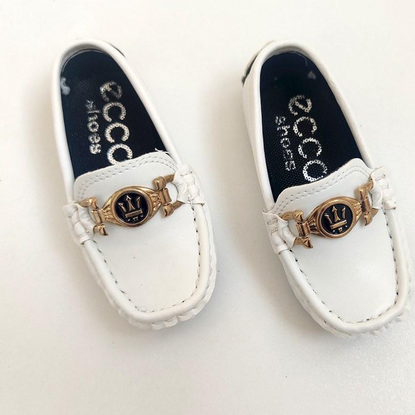 تصویر کفش پسرانه طرح کالج ECCO کد 11163
