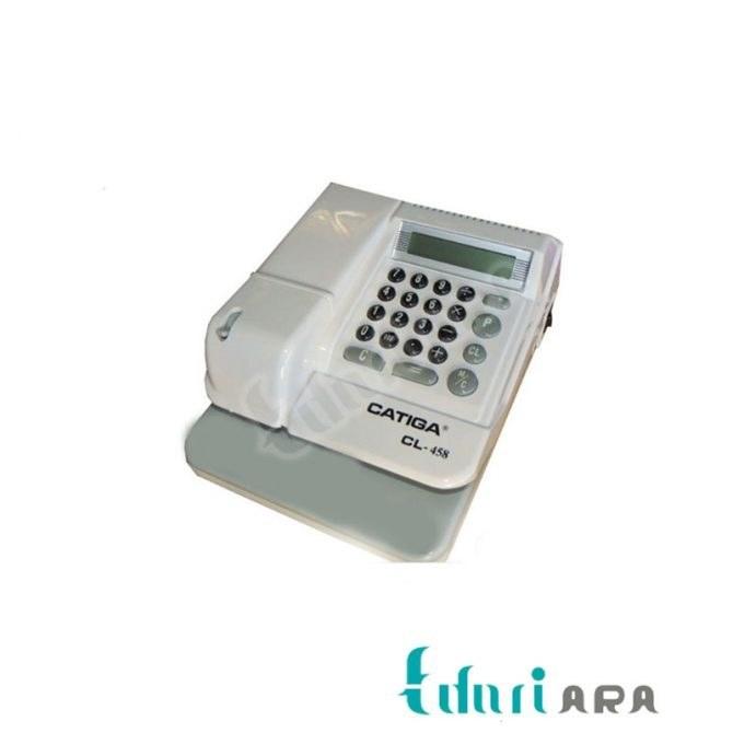 تصویر دستگاه پرفراژ چک کاتیگا مدل Cl-458 Catiga Cl-458 Check Printer