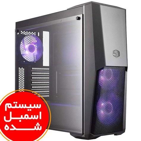 تصویر سیستم اسمبل شده بایواستار مدل B9 Super Gaming با پلتفرم ای ام دی گرافیک 8 گیگابایت PC B9 Super Gaming Biostar Razen5(3600) 16GB(3000) RAM 512GB SSD